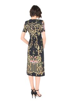 ALBERTA FERRETTI PALACE TULIP DRESS Mid-length Dress Woman r