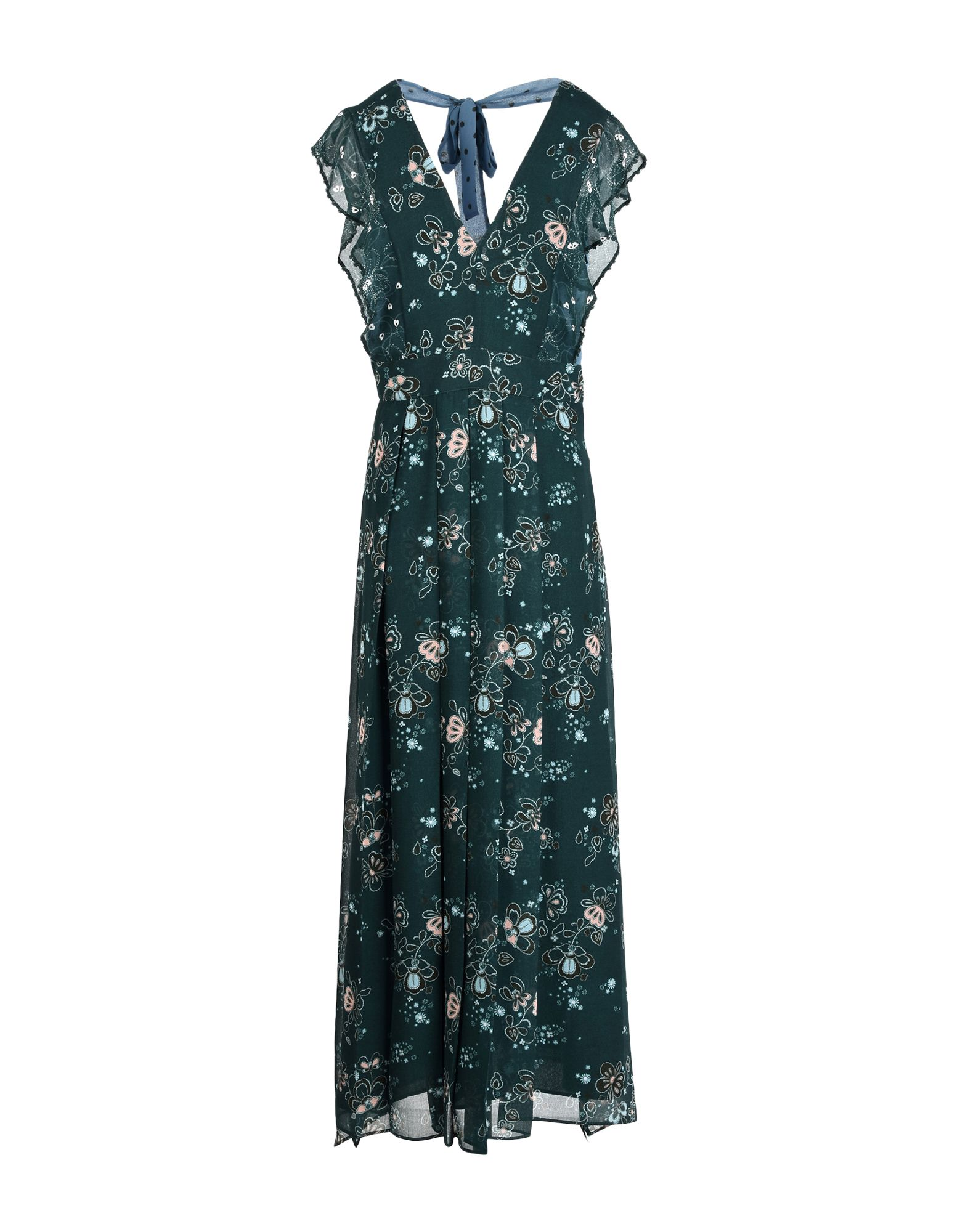 SEE BY CHLOÉ Длинное платье see by chloé шерстяное платье в полоску