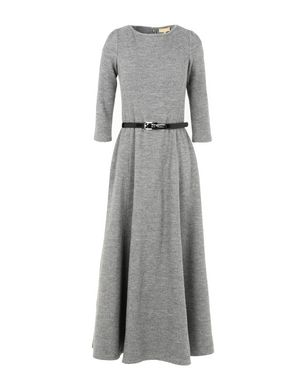 MICHAEL KORS COLLECTION Damen Midikleid Farbe Grau Größe 2