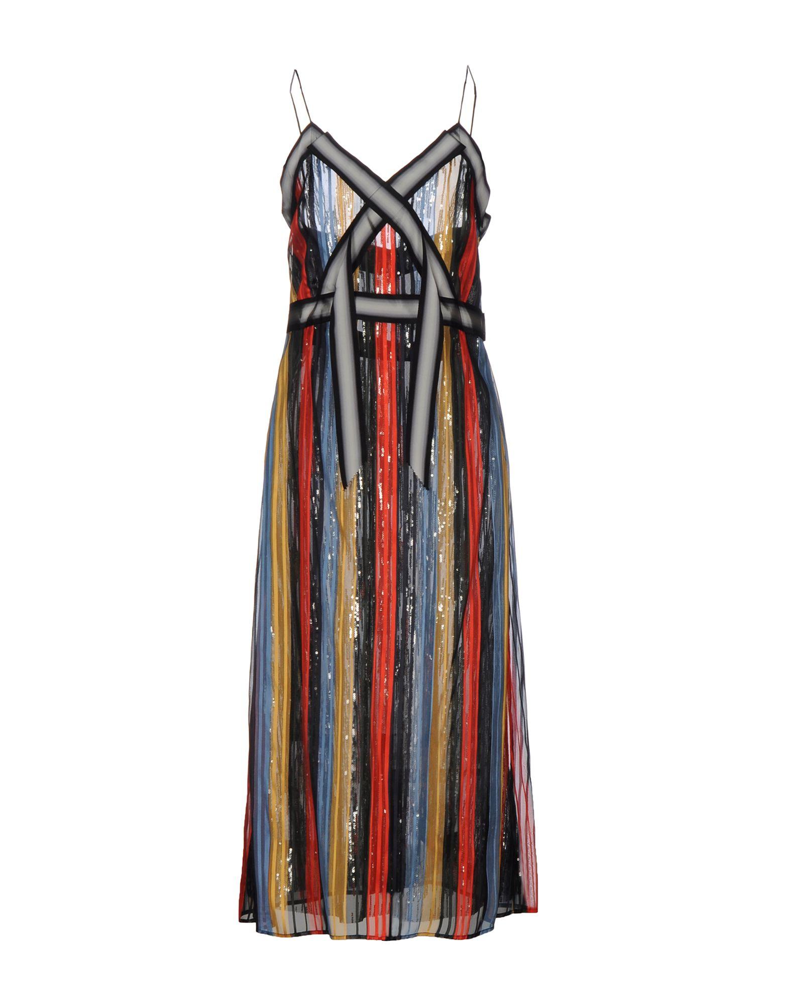 MARCO DE VINCENZO Платье длиной 3/4 marco de vincenzo короткое платье