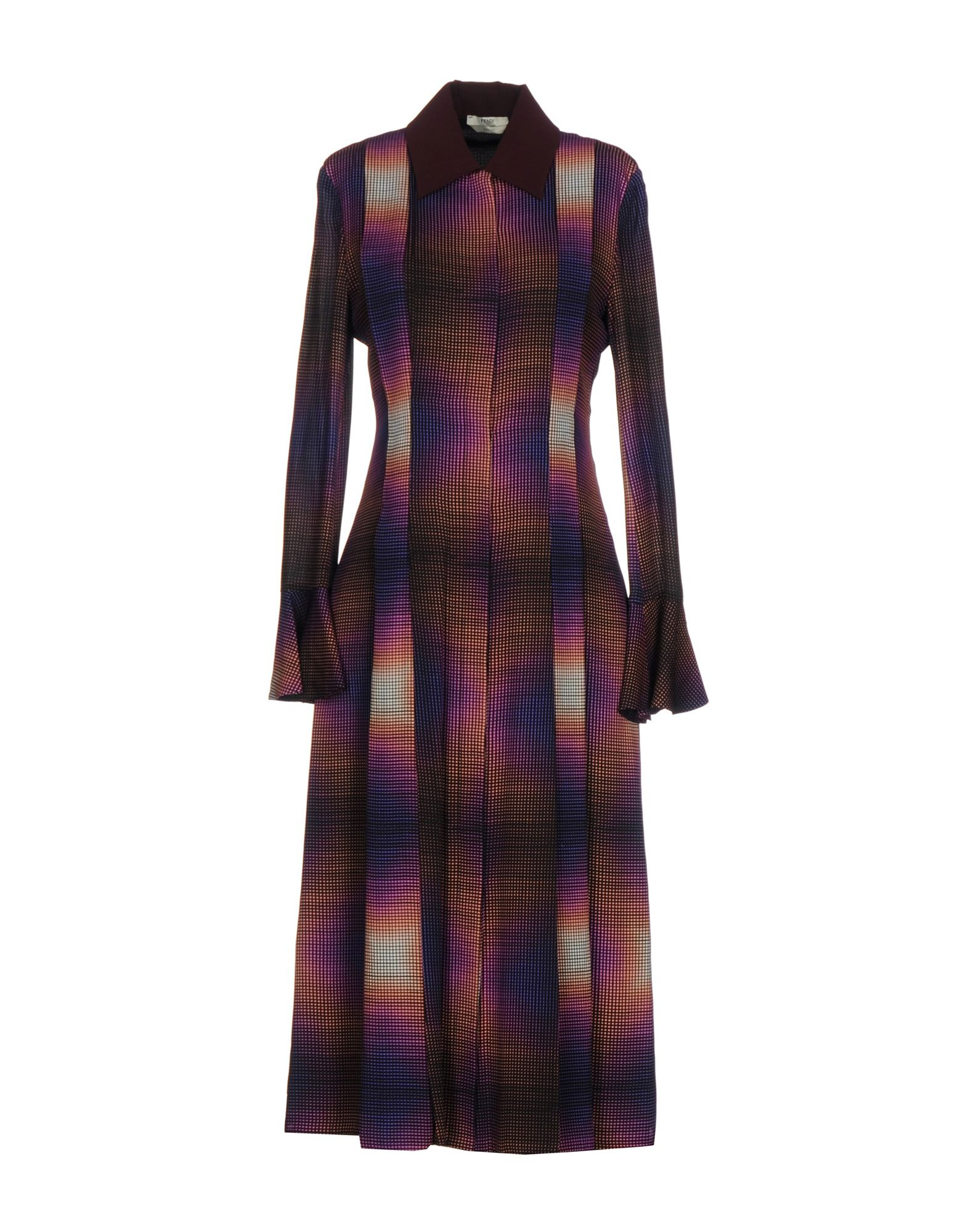 FENDI Платье длиной 3/4 zilli пуховик от zilli 69850