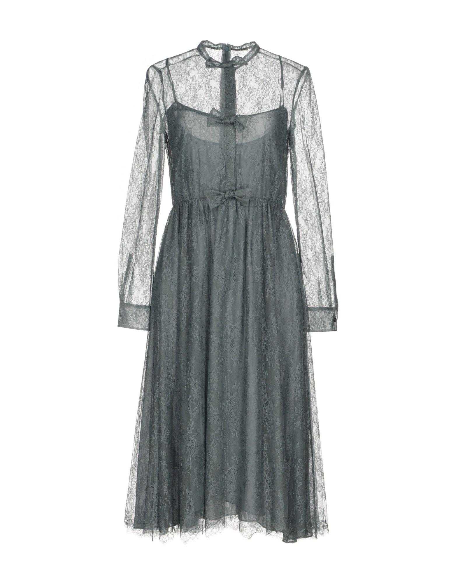 VALENTINO Платье до колена velvet платье до колена