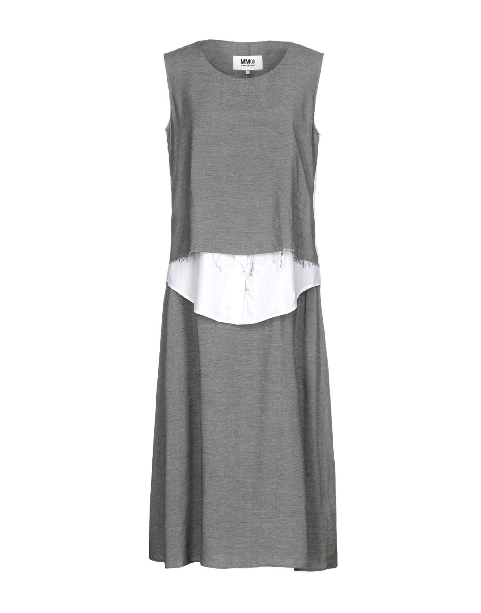 MM6 MAISON MARGIELA Платье длиной 3/4 mm6 maison margiela платье длиной 3 4