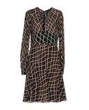 GUCCI Damen Knielanges Kleid Farbe Bordeaux Größe 4