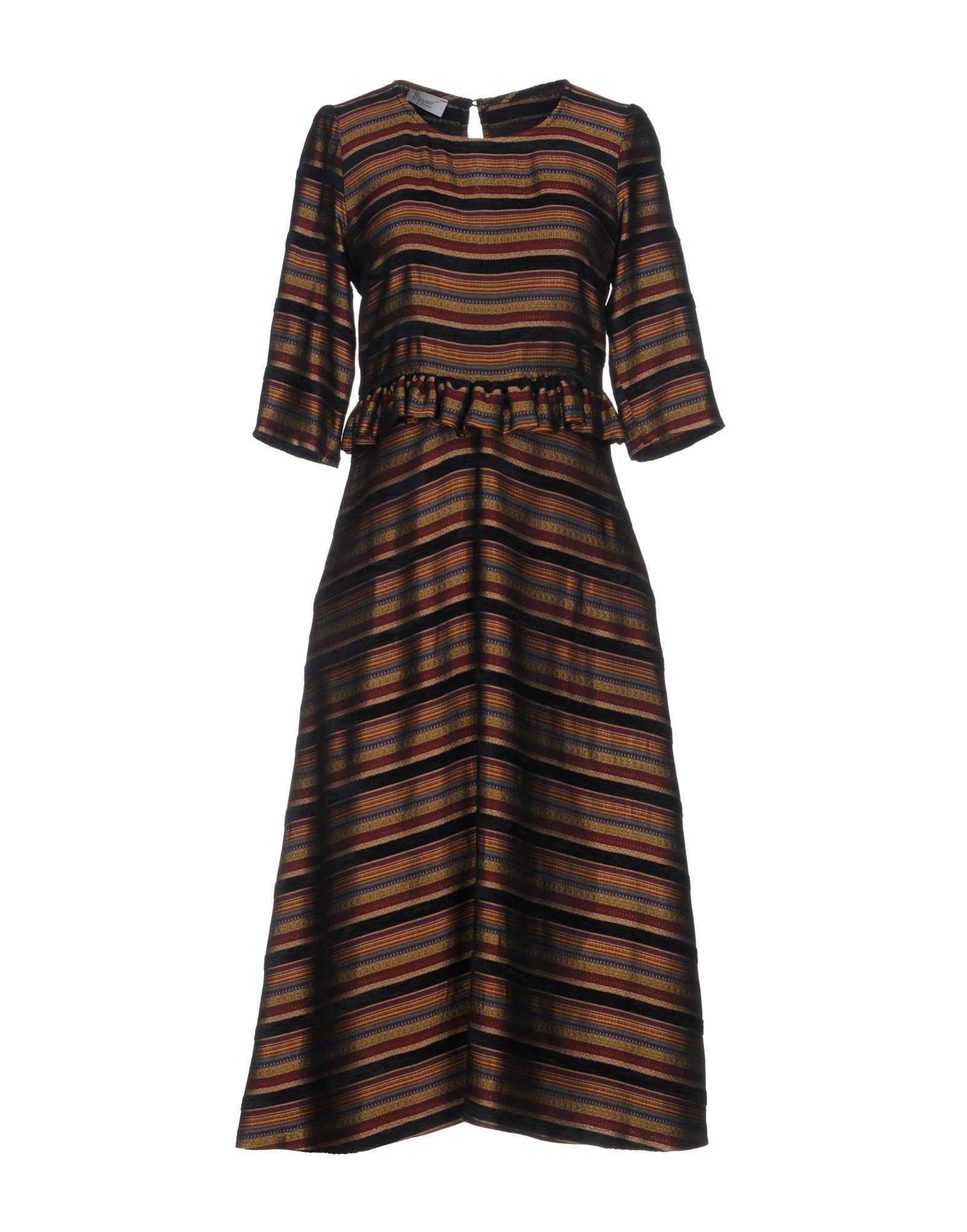 HOPPER Платье длиной 3/4 hopper короткое платье