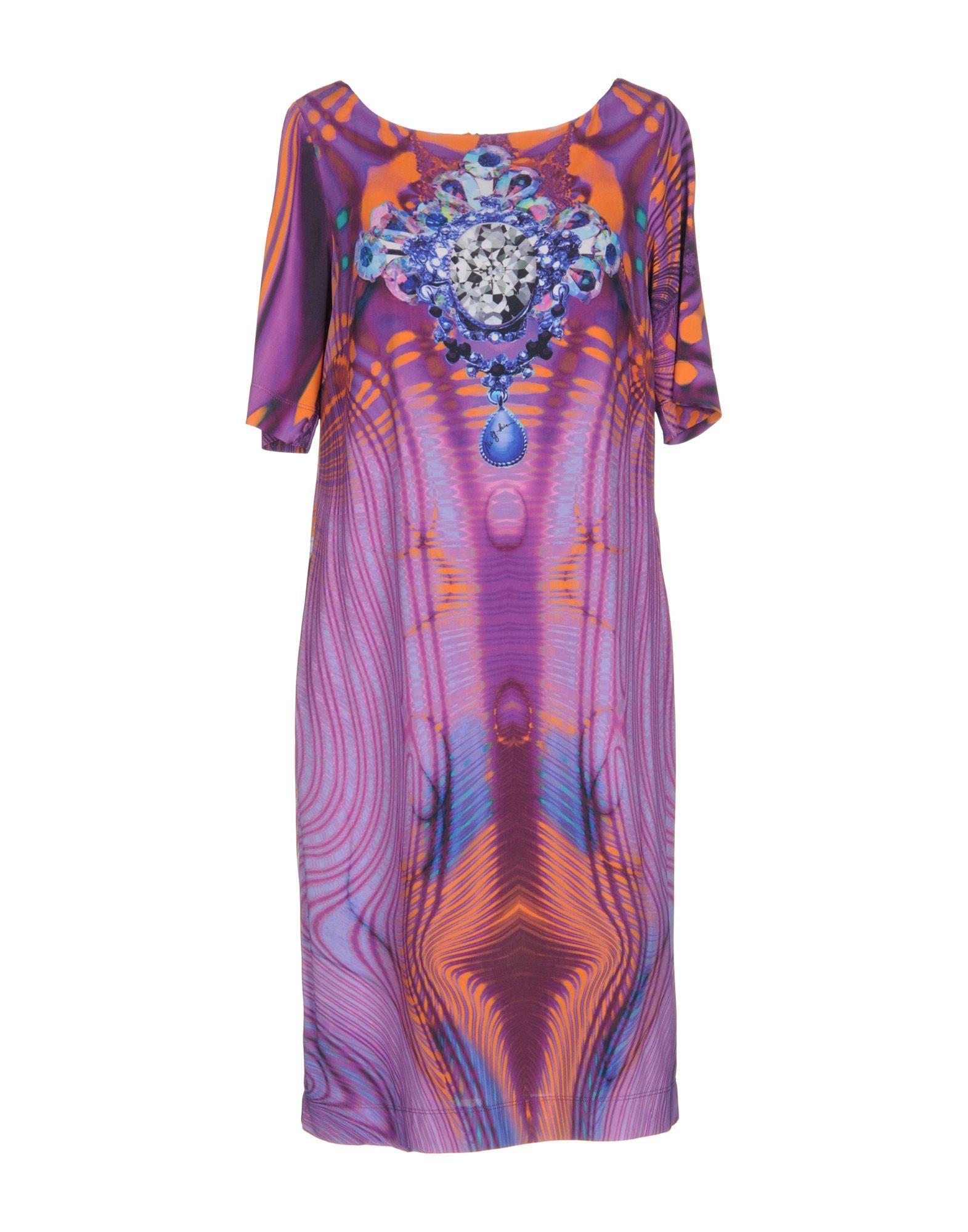 цена MARIA GRAZIA SEVERI Короткое платье онлайн в 2017 году