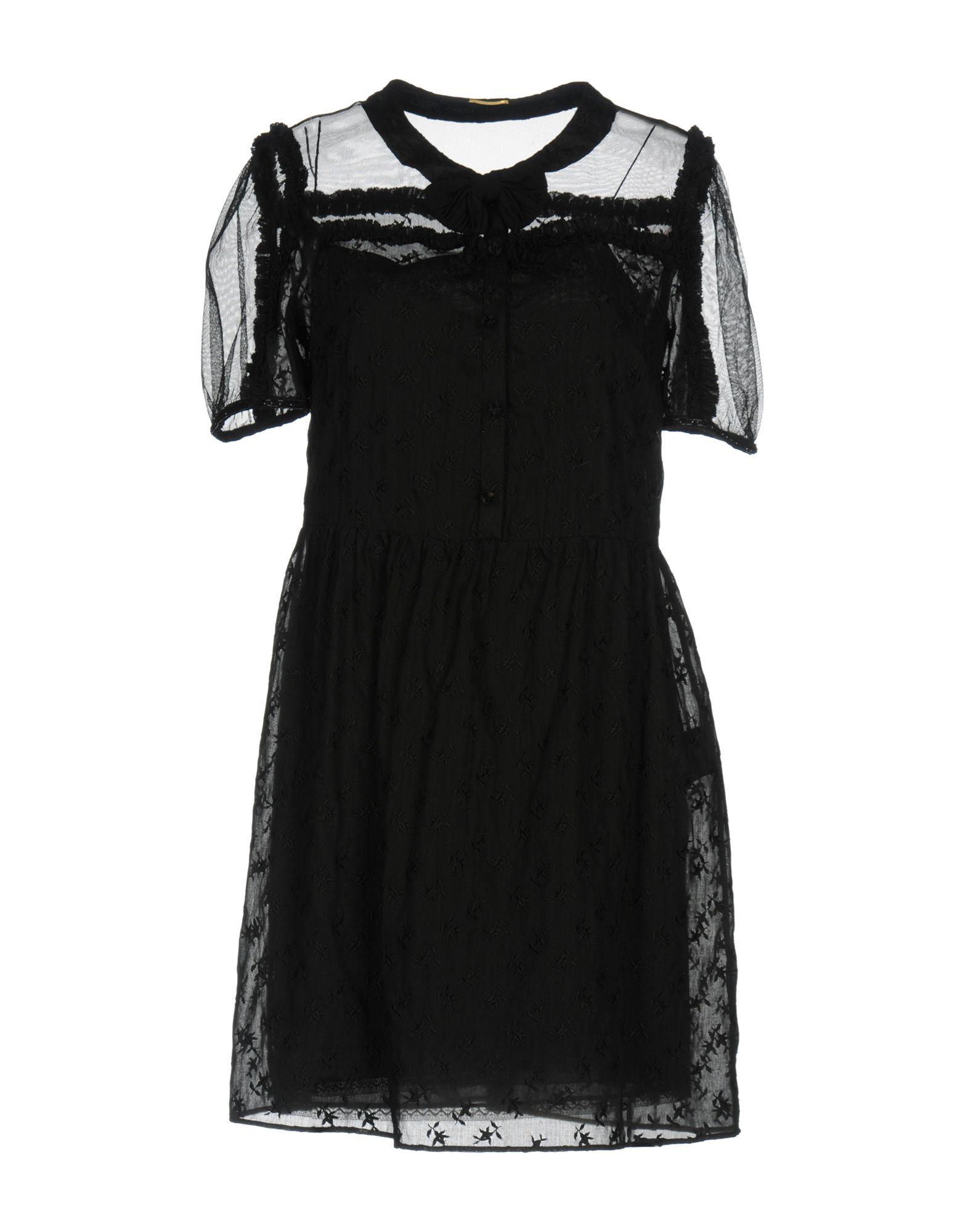 где купить SAINT LAURENT Короткое платье по лучшей цене