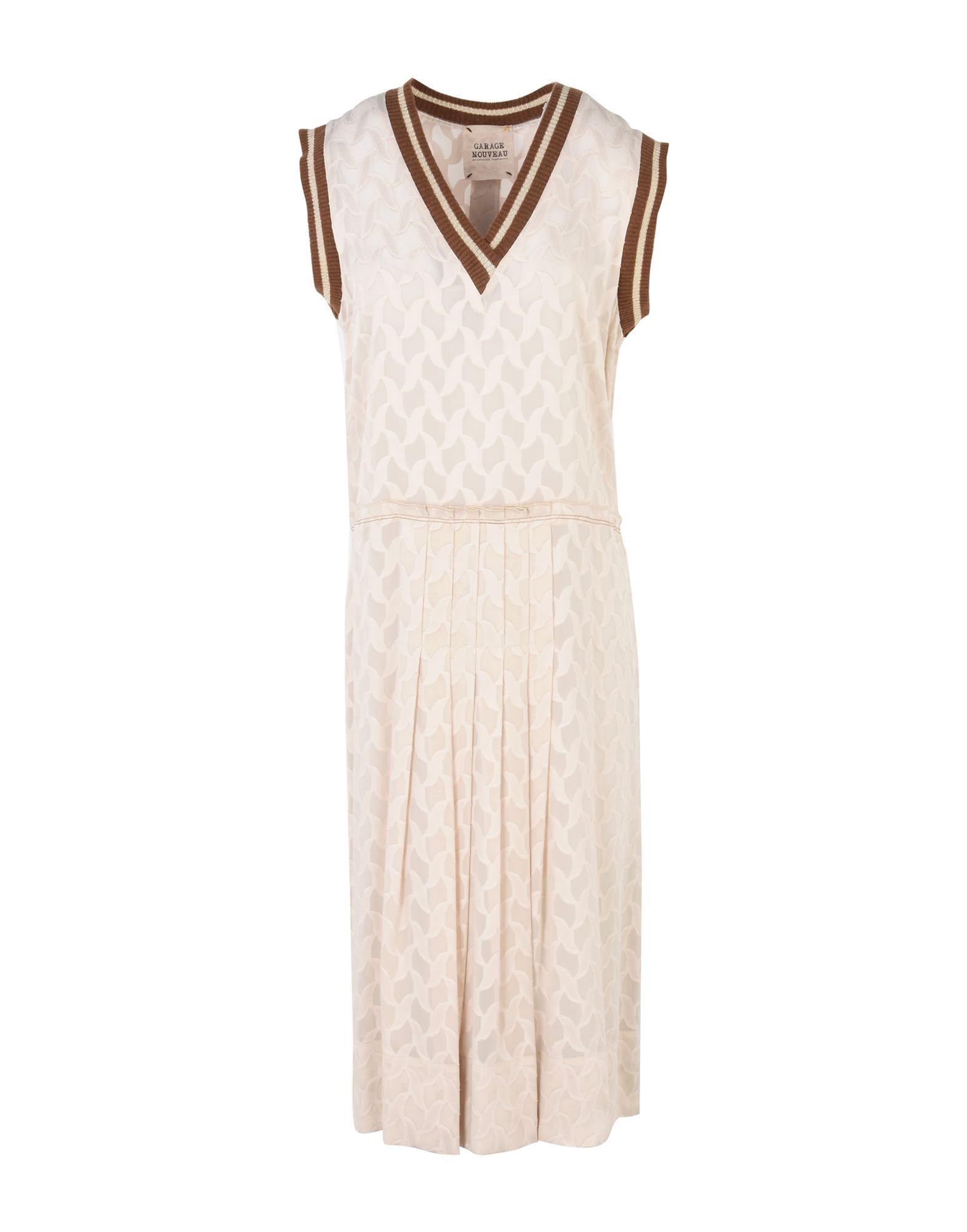 GARAGE NOUVEAU Платье длиной 3/4 lisa corti платье длиной 3 4