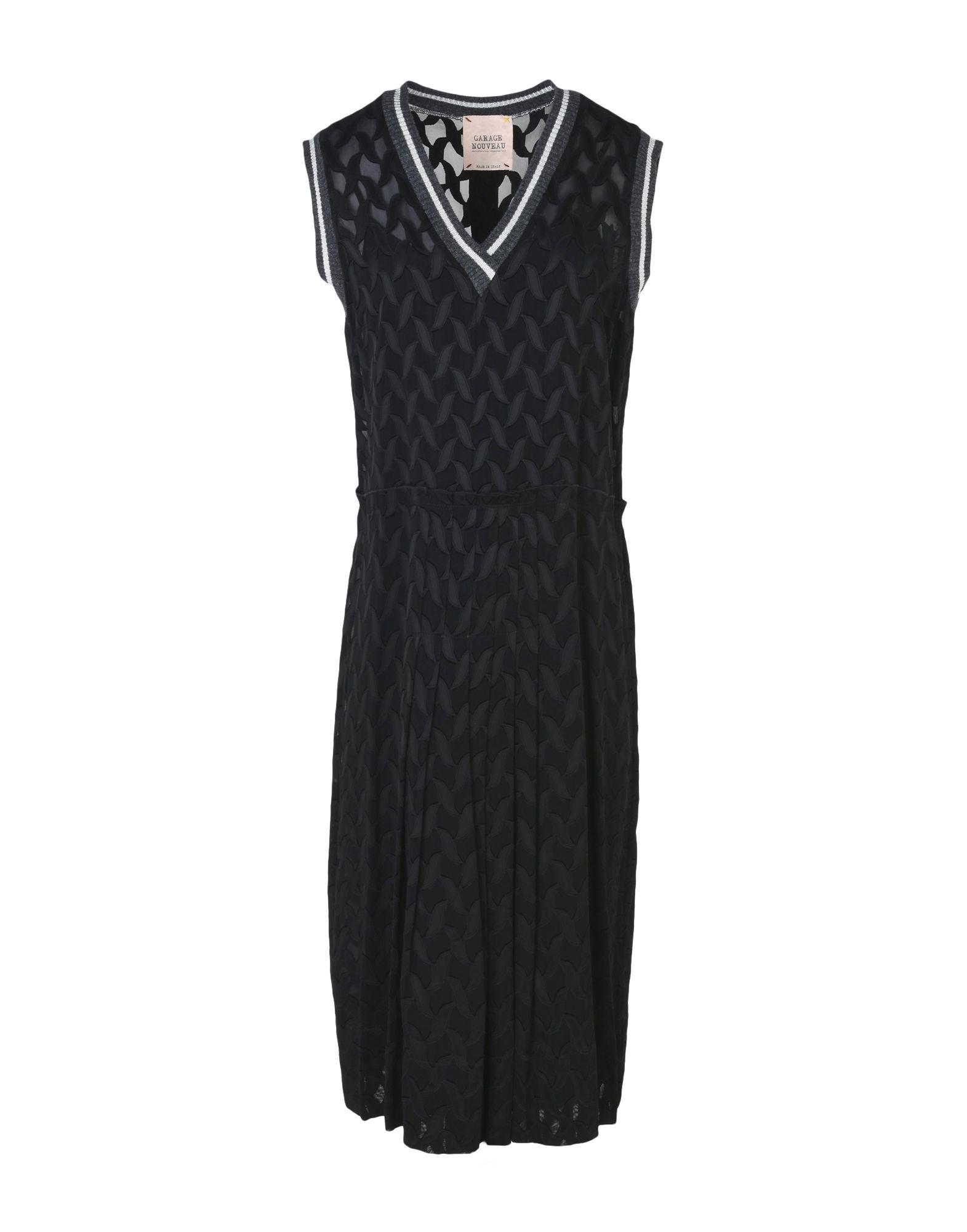 GARAGE NOUVEAU Платье длиной 3/4 buckling of composites