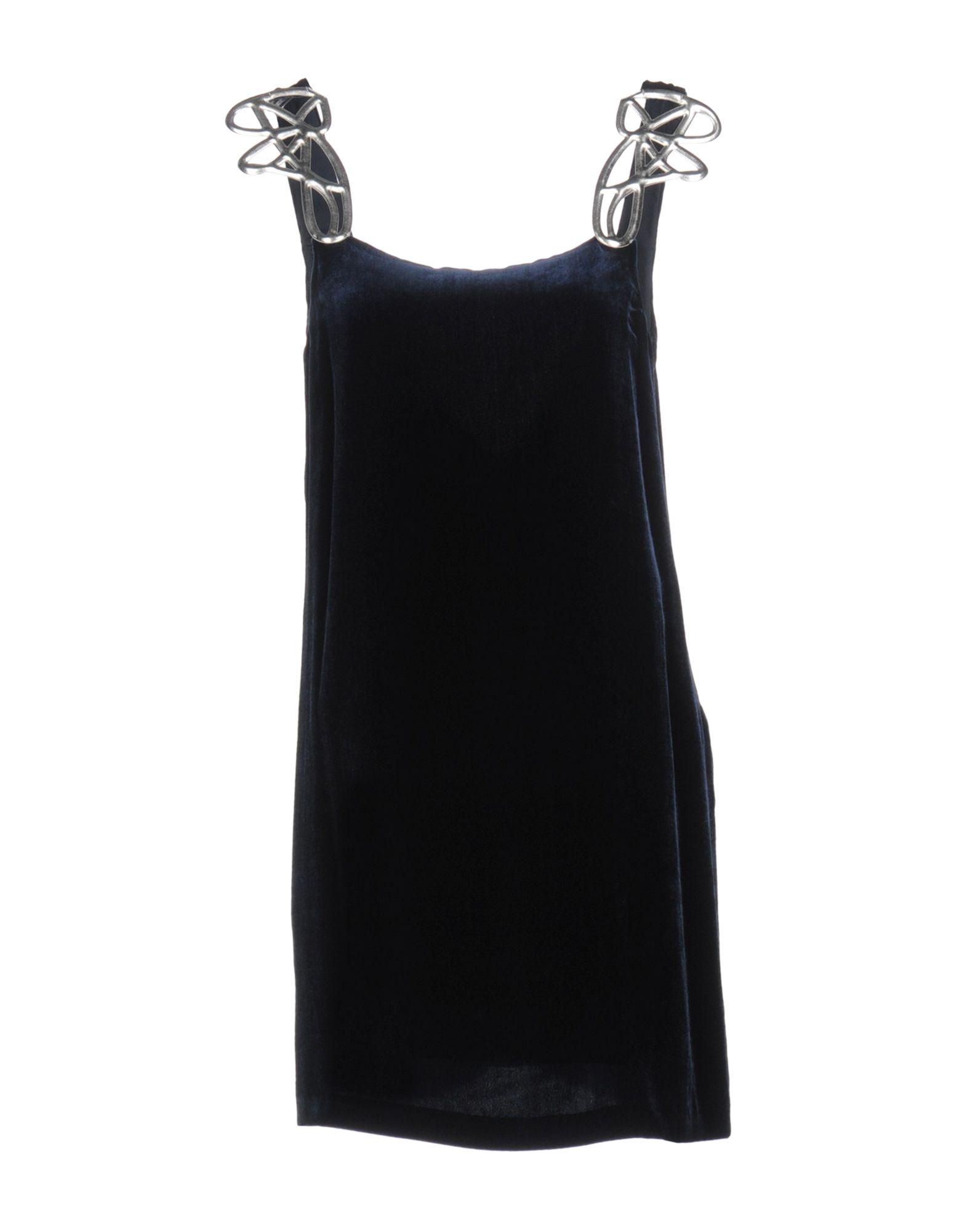 PINKO Damen Kurzes Kleid5 blau