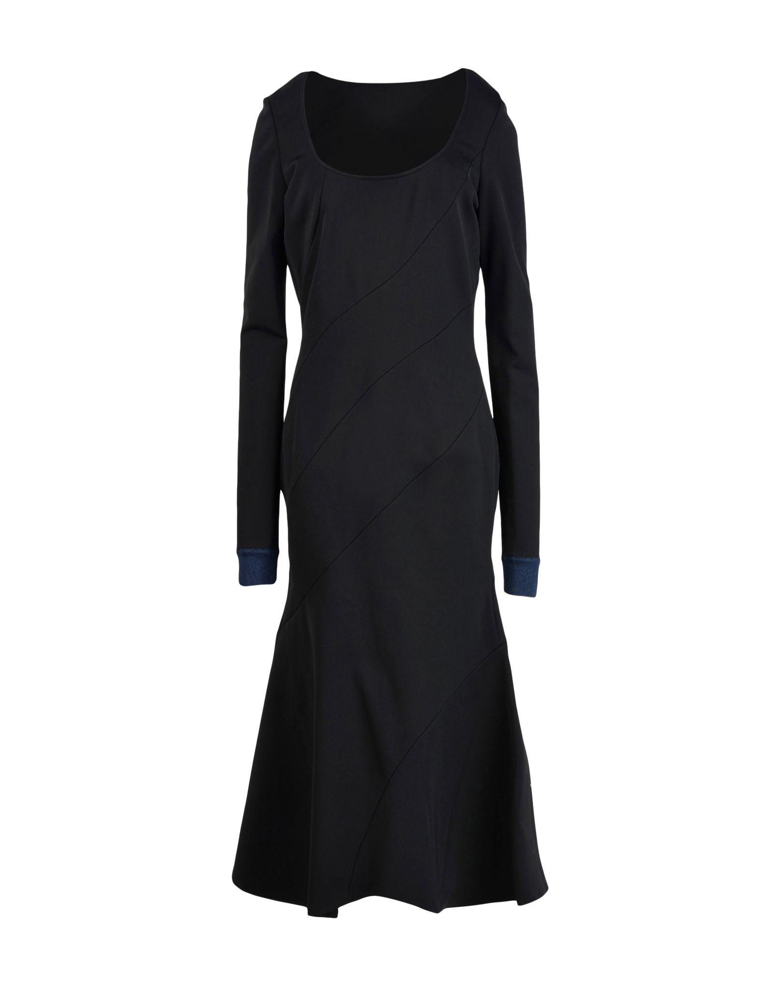 VICTORIA BECKHAM Длинное платье victoria beckham платье от victoria beckham 69775 черный