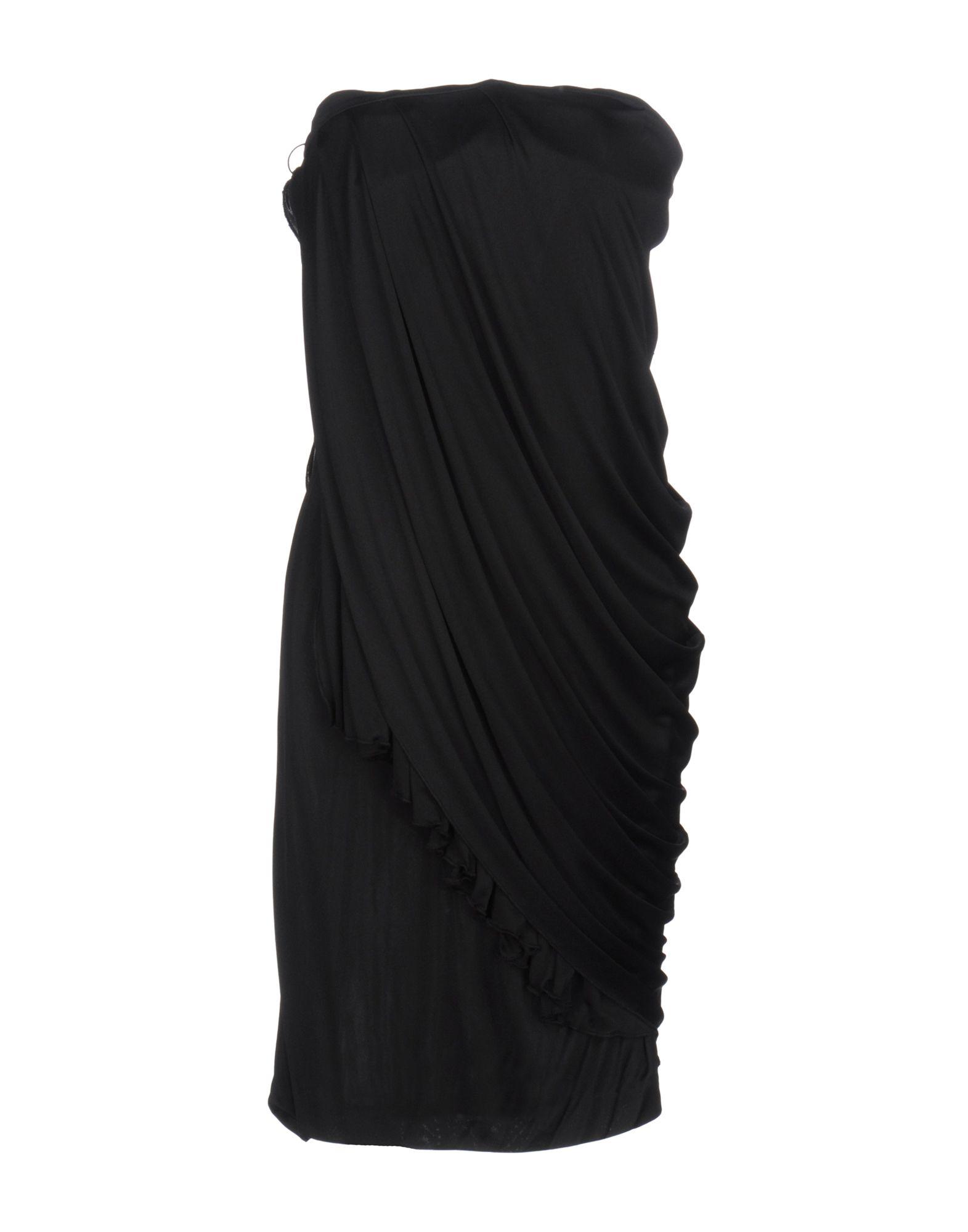 LES HOMMES - FEMME Платье до колена les hommes femme платье длиной 3 4