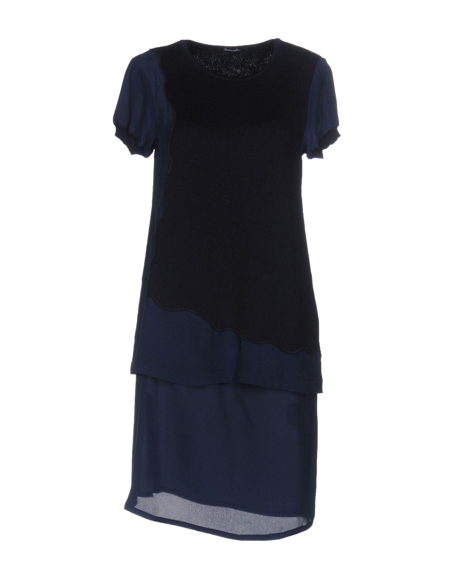 цена SCOOTERPLUS Короткое платье онлайн в 2017 году