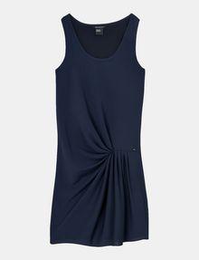 ARMANI EXCHANGE ASYMMETRICAL CINCH WAIST DRESS Mini dress Woman b