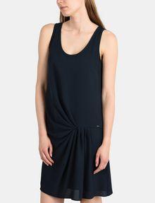 ARMANI EXCHANGE ASYMMETRICAL CINCH WAIST DRESS Mini dress Woman d