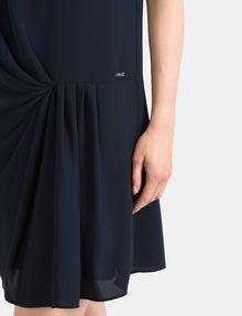 ARMANI EXCHANGE ASYMMETRICAL CINCH WAIST DRESS Mini dress Woman e