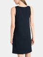 ARMANI EXCHANGE ASYMMETRICAL CINCH WAIST DRESS Mini dress Woman r