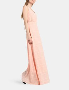 ARMANI EXCHANGE LACE-UP MAXI DRESS Maxi dress Woman a