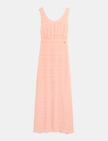 ARMANI EXCHANGE LACE-UP MAXI DRESS Maxi dress Woman b