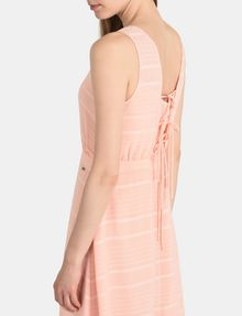 ARMANI EXCHANGE LACE-UP MAXI DRESS Maxi dress Woman e
