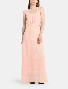 ARMANI EXCHANGE LACE-UP MAXI DRESS Maxi dress Woman f