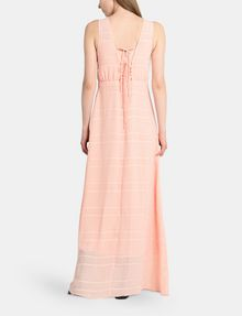 ARMANI EXCHANGE LACE-UP MAXI DRESS Maxi dress Woman r