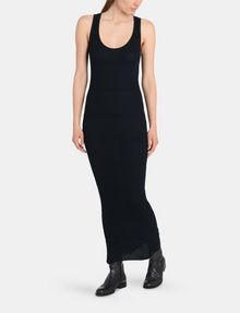 ARMANI EXCHANGE MAXI RIBBED SWEATER TANK DRESS Maxi dress Woman a