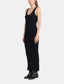 ARMANI EXCHANGE MAXI RIBBED SWEATER TANK DRESS Maxi dress Woman d