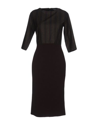 Платье до колена ROBERTO COLLINA 34757228GR
