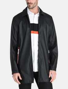 ARMANI EXCHANGE RUBBERIZED SLEEK COAT Coat Man f