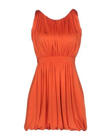 Оранжевые короткие платья