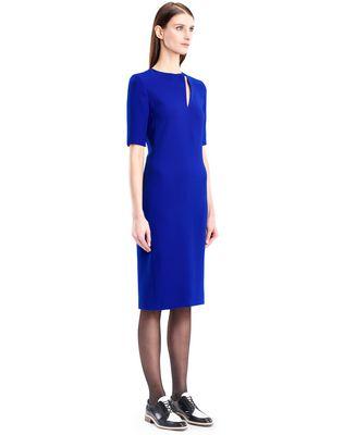 LANVIN GITANE BLUE CADY DRESS Dress D d