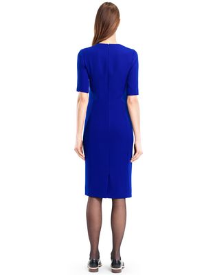 LANVIN GITANE BLUE CADY DRESS Dress D e