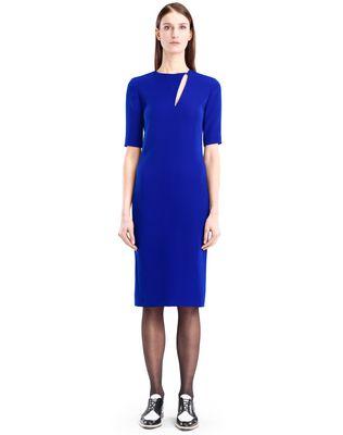 LANVIN GITANE BLUE CADY DRESS Dress D f