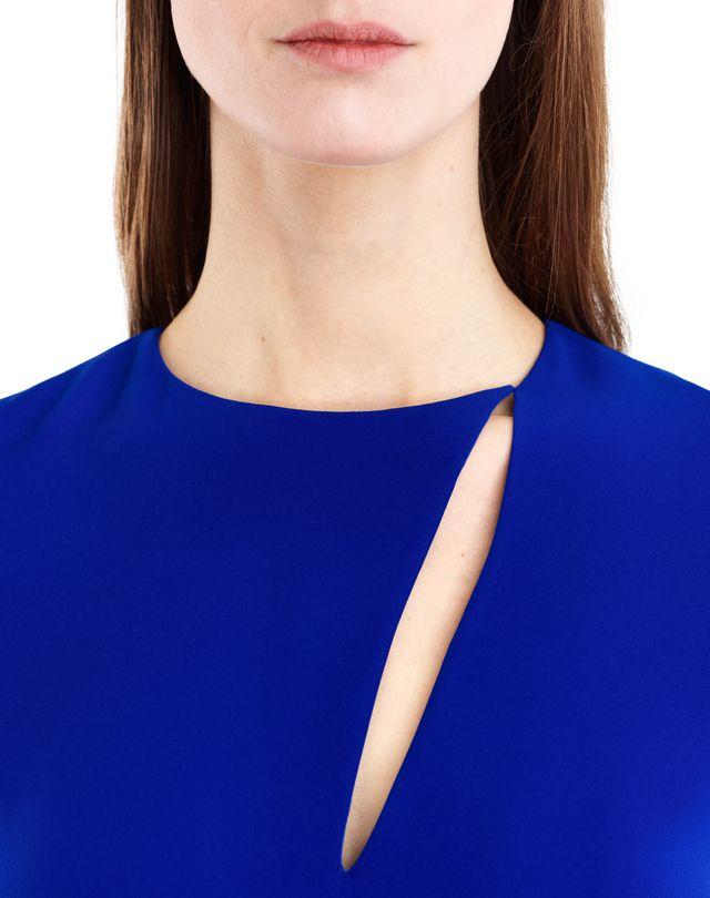 LANVIN GITANE BLUE CADY DRESS Dress D r