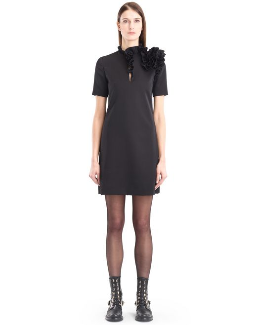lanvin gabardine dress women