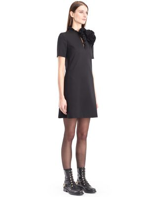 LANVIN GABARDINE DRESS Dress D d