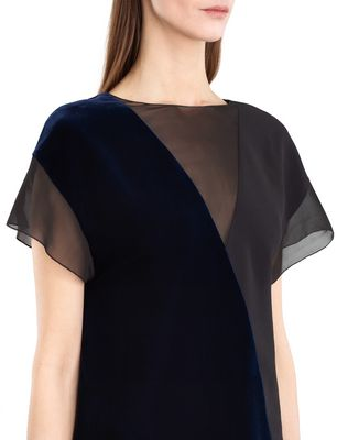LANVIN FLOWY VELVET DRESS Dress D b