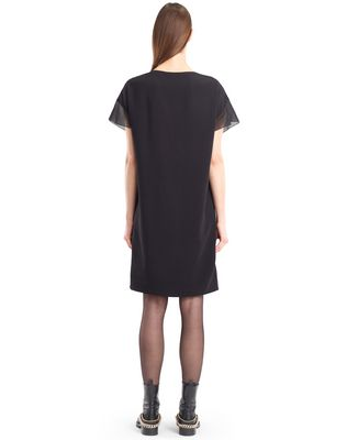 LANVIN FLOWY VELVET DRESS Dress D e