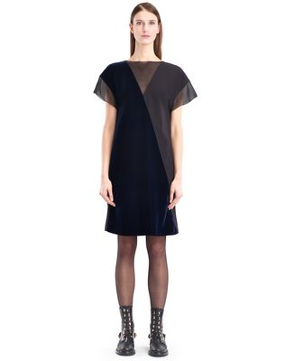 LANVIN FLOWY VELVET DRESS Dress D f