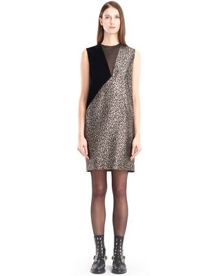 LANVIN Dress D GOLDEN LEOPARD DRESS F