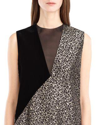 LANVIN GOLDEN LEOPARD DRESS Dress D a