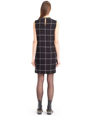 LANVIN CHECKERED CADY DRESS Dress D e