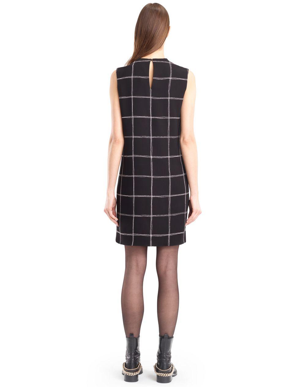 CHEQUERED CADY DRESS - Lanvin