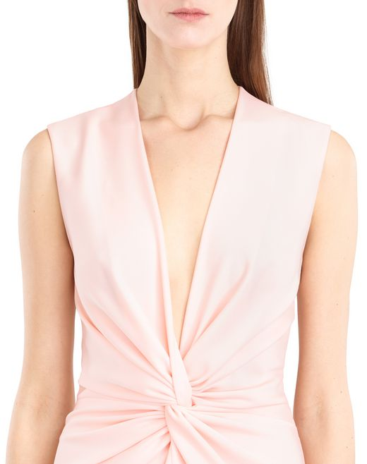 lanvin powder cady dress women
