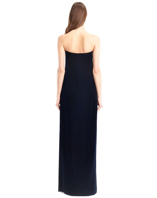 LANVIN LONG FLOWY VELVET DRESS Long dress D e
