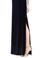 LANVIN Long dress Woman LONG FLOWY VELVET DRESS f