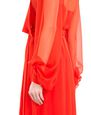 LANVIN Long dress Woman LONG SILK CHIFFON DRESS f