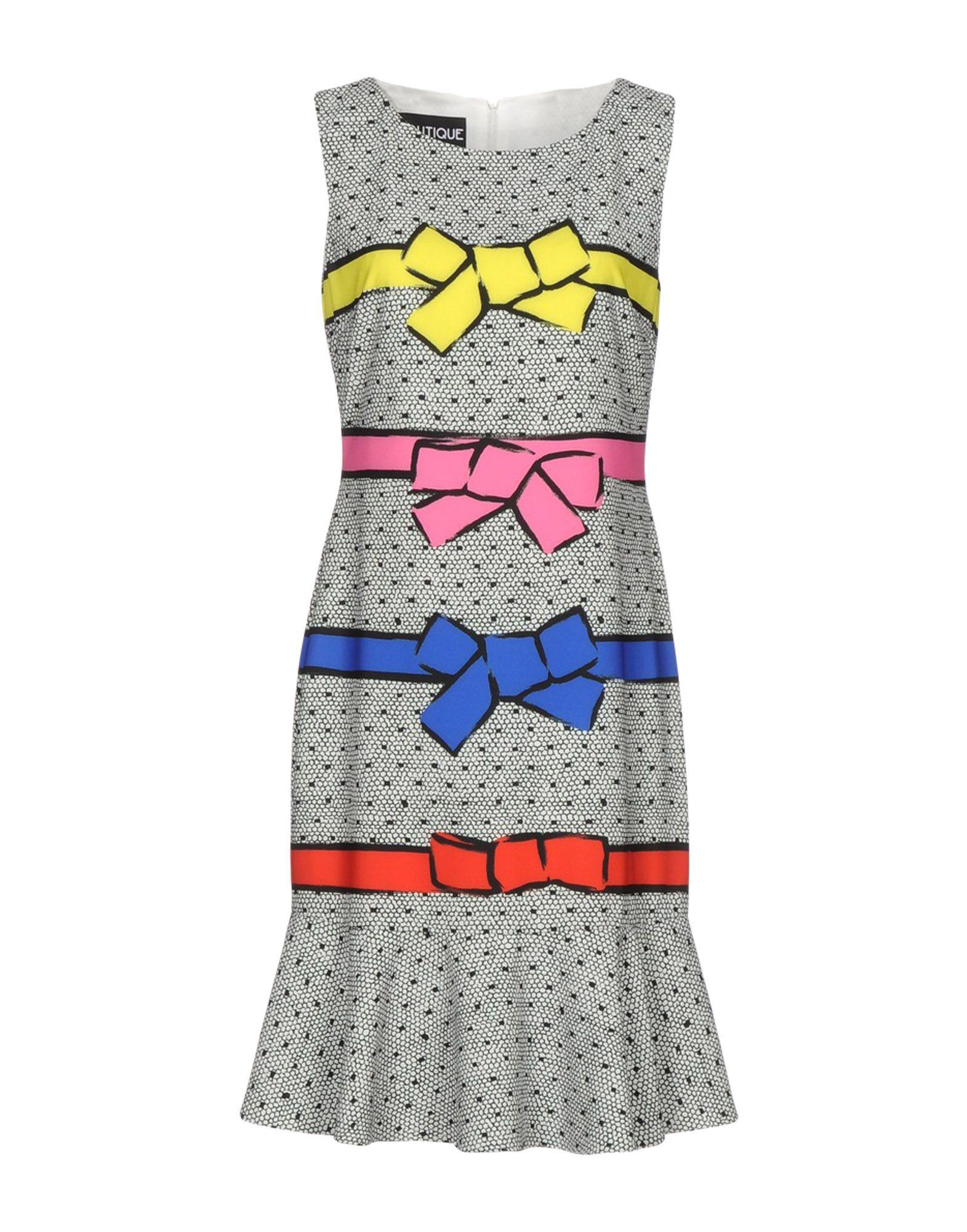 BOUTIQUE MOSCHINO Платье до колена платье boutique moschino boutique moschino bo036ewufp29