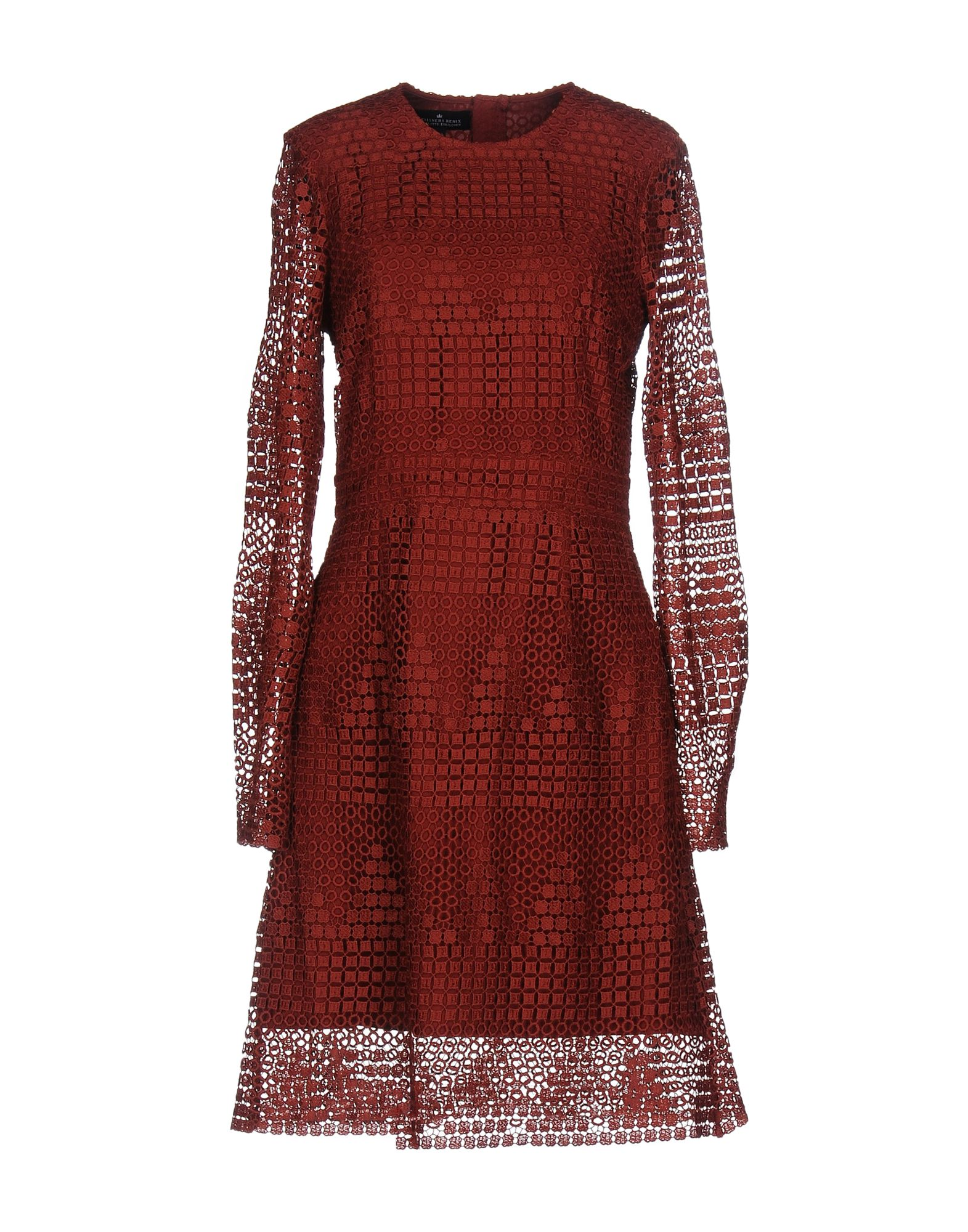 DESIGNERS REMIX CHARLOTTE ESKILDSEN Платье до колена designers remix однотонное платье dagmar long